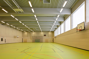 Sporthalle; Foto: Andreas Muhs