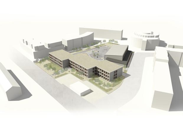 Visualisierung: NKBAK Architekten