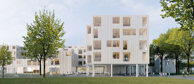 Visualisierung 1. Preis: PAAG architects
