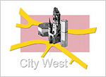 Logo Leitlinien City West